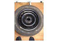 Renault Clio or Kangoo set of Four wheels with matched Continental Contieco 175/65 x 14 tyres