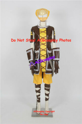 Hack Kuhn Cosplay Costume faux leather made