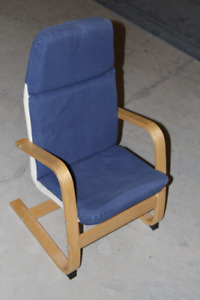 Children's Armchair, blue, IKEA POANG