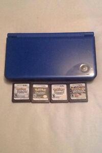 Blue DSi XL + Pokemon Bundle