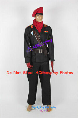 Metal Gear Solid Ocelot Cosplay Costume acgcosplay include hat and belt