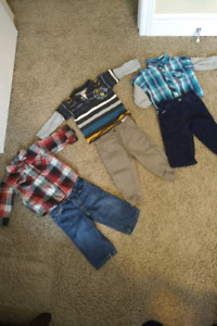 Toddler Boys outfits size 12 months