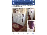 Double quality orthopaedic mattress only £65ono