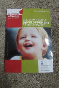 lot de livres bébé/grossesse/développement enfant