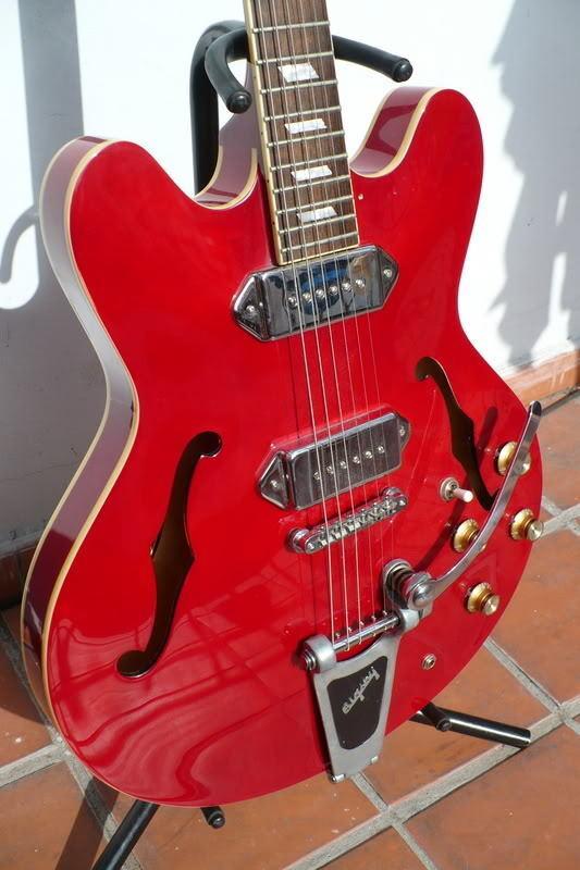epiphone casino cherry red