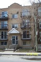 Verdun 4 1/2, near metro  two closed bedrooms 720$,immediate
