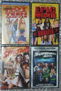 Meet The Spartans/Superhero/Epic/Not Another Teen Movie lot 4X