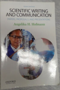 Scientific Writing and Communication Textbook