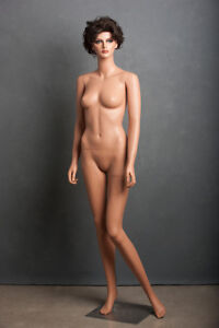 Female mannequin with a wig
