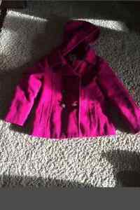 Old navy 6/7 pink pea coat