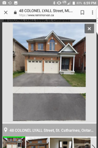 House for rent 2000 close to Niagara collage