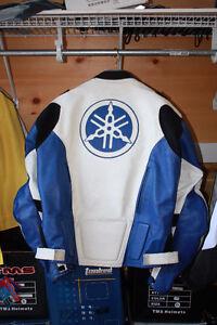Size XL Yamaha OEM 2 piece race suit