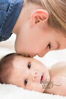 Custom Newborn Photography Sessions in the comfort of your home