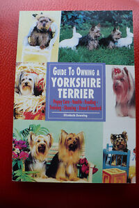 GUIDE TO OWNING A YORKSHIRE TERRIER ( BOOK )