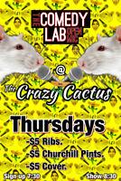 Comedy Lab Thursdays at The Crazy Cactus
