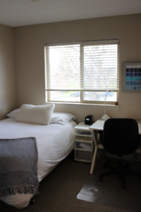 Fully Furnished Room near UVIC-  Available January- end of April