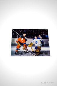 Hand Signed MONTREAL CANADIENS '#4 - JEAN BELIVEAU 8x10'