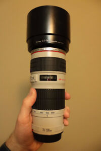 Perfect Condition Canon EF 70 200 F4 L USM Zoom Lens