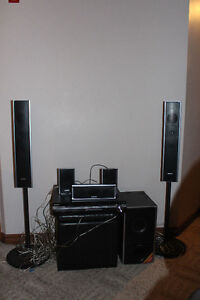 Sony 5 DVD Changer with Surround Sound