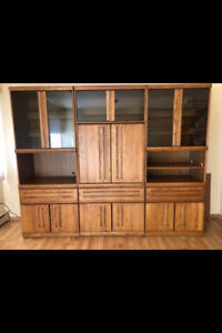 For Sale. 3 Oak Wall Units