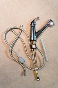 Moen One-Handle Pillout Kitchen Faucet Model 87315