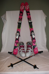 AWESOME JUNIOR GIRL SKI PACKAGE