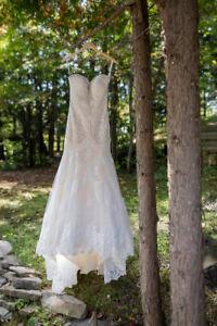 Allure 9376 Wedding Gown Size 12