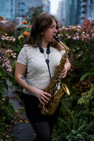 Experienced Saxophonist for hire!