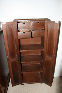 Solid Wood Cabinet or Jewellery Dresser