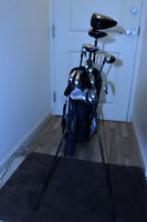 TaylorMade Tour Burner Clubs, Irons, Bag, Cart and Travel Case