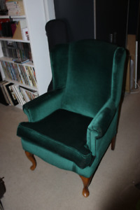 Queen Anne Chairs - Matching Pair
