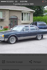 Pontiac parisiene v8 1985 3000
