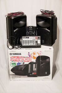 Yamaha 400i Portable PA System - Nearly New (Mint Condition)