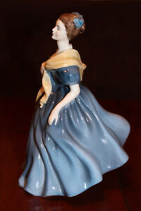 ROYAL DOULTON ADRIENNE FIGURINE 1963 HN2304, MADE IN ENGLAND