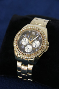 **TREND SETTER** Guess Ladies' Leopard Print Watcg