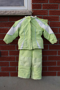 3T two piece kids snowsuit
