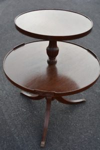AntiqueTwo Tier Table