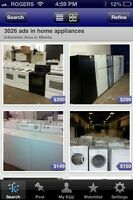 Used home appliances!!Full One Year Warranty