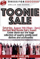 Dress for Success Orillia and Barrie's Toonie Sale