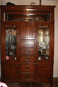 Touch Light China Hutch