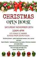 Christmas craft show/open house