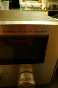 Fisher hifi Stereo model mc 2500