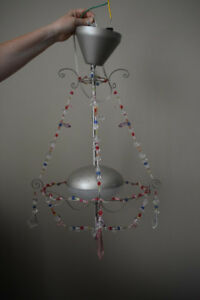 Princess Chandelier  light fixture - ideal for girls bedroom