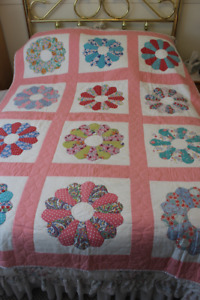 Hand Made Vintage Quilts one single/twin and one double/full