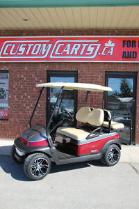 2014 CLUB CAR Precedent Custom Painted Golf Cart with Upgraded C
