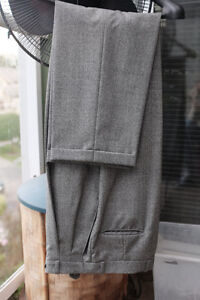 100% Italian wool Double Breasted Jacket and pans Size 40 North Shore Greater Vancouver Area image 4