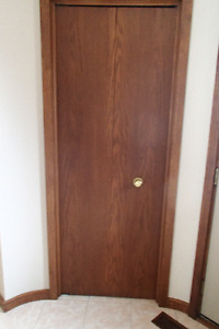 3 Matching Closet Doors