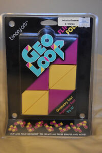 Geometry Toy GEOLOOP - ages 8 and up - new/vintage