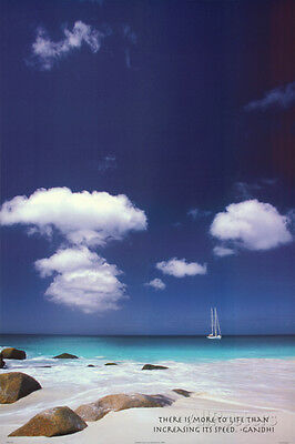 Ocean Reflections Art Print Poster Poster Print, 24x36