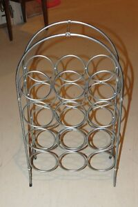 STAINLESS STEEL WIRE WINE RACK